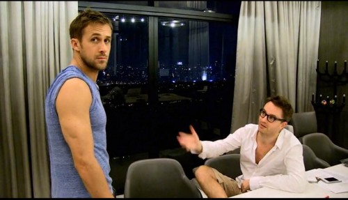 Refn explains violence to Gosling