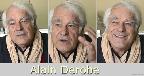 Alain Derobe tryptich by Benjamin B -thefilmbook