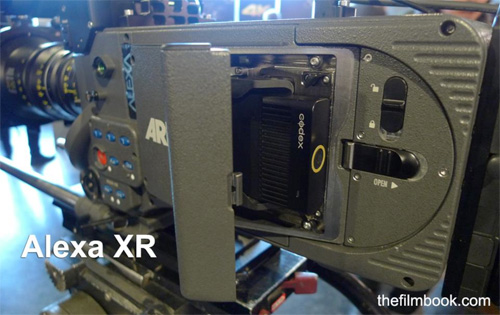 Alexa XT with Codex drive inside-thefilmbook-