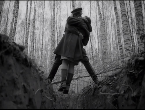 Tarkovsky - Ivan s Childhood - The Kiss-