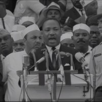 "Martin Luther King: ""I have a dream"" August 28 1963"