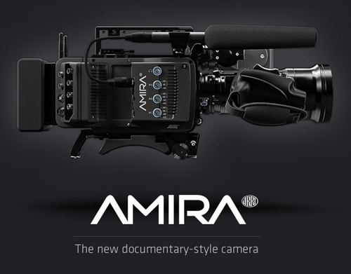 Amira the new documentary style camera-