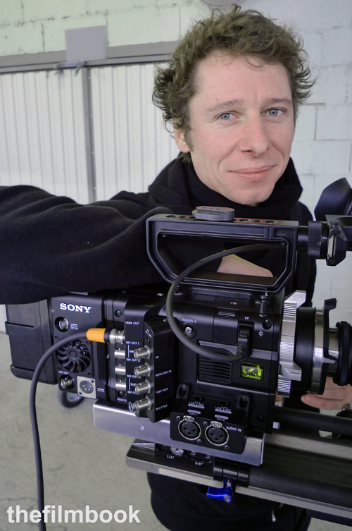 Thomas Ozoux with Sony F55 -thefilmbook