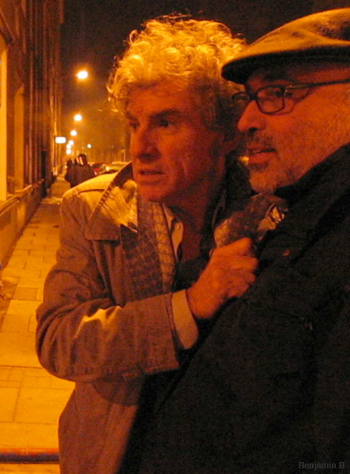 chris doyle and harris savides Camerimage 2007 - photo benjamin b-