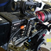 Photos of Sony F55 cameras