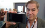 Jacques Delacoux from Transvideo with Starlite monitor