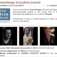Camerimage 2013 photo journal