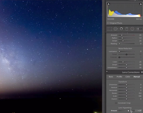 Shooting the Milky Way with ETTR method -thefilmbook-