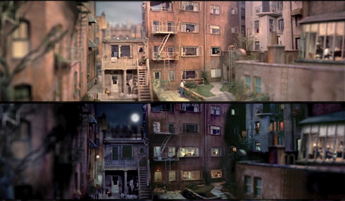 Rear Window Timelapse -thefilmbook-