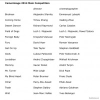 Camerimage 2014: 15 Films in Main Competition