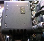 alexa 65 tour - the back of the camera has 2 dual monitor outputs