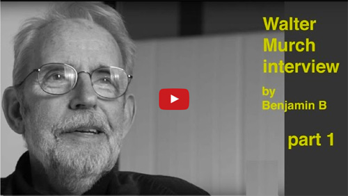 Interview with Walter Murch by Benjamin B part 1 -thefilmbook