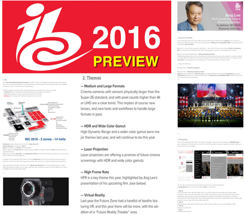 IBC 2016 Preview