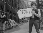 Bob Dylan and Alan Ginsberg in D A Pennebaker s DONT LOOK BACK